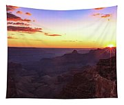 Twilight In The Canyon Tapestry