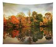 Twin Pond Reflections Tapestry