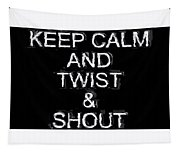 Twist And Shout V3 Tapestry
