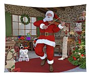 Two Nights Before Christmas Tapestry