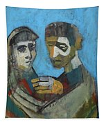 Two People Tapestry