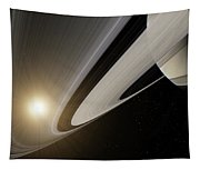 Under The Rings Of Saturn Tapestry
