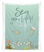 Under The Sea - Sea You Later Tapestry