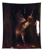 Unicorn 1885 Tapestry