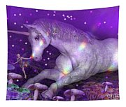 Unicorn Forest Tapestry