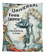 Universal Food Chopper No. 2  1899 Tapestry