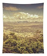 Up Above The Land Down Under Tapestry