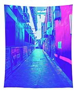 Urban Neon Tapestry