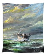 Uss Enterprise Returns To Pearl Tapestry