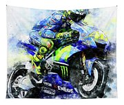Valentino Rossi - 18 Tapestry