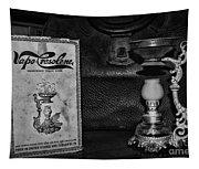Vapo-cresolene Vaporizer Respiratory Remedy Black And White Tapestry