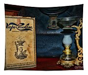 Vapo-cresolene Vaporizer Respiratory Remedy Tapestry