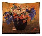 Vase Of Flowers 1896 Tapestry