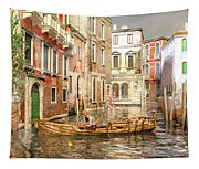 Venice The Little Yellow Duck Tapestry