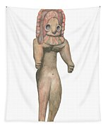 Venus Of The Indus Valley Tapestry