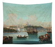 View Of Istanbul - 1 Tapestry