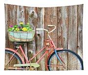 Vintage Bicycles Tapestry