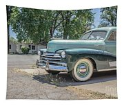 Vintage Car Chevy Fleetmaster Tapestry