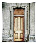 Vintage Door Tapestry