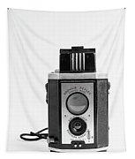Vintage Eastman Kodak Brownie Reflex Synchro Model Film Camera Tapestry