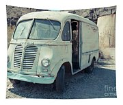 Vintage International Harvester Metro Delivery Van Tapestry