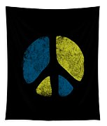 Vintage Peace Sign Tapestry