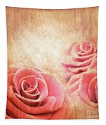 Vintage Roses Tapestry