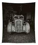 Vintage Service Station Jerome Arizona Tapestry