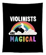 Violinists Are Magical Tapestry