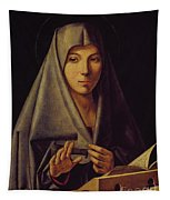 Virgin Annunciate By Messina Tapestry
