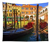 Visions Of Venice Tapestry