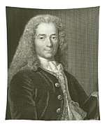 Voltaire Portrait, Engraving Tapestry