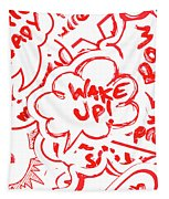 Wake Up Tapestry