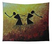 Warli Painting Tapestry