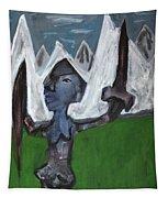 Warrior In A Field Tapestry