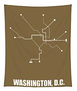 Washington, D.c. Subway Map 2 Tapestry