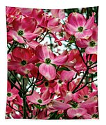 Washington State Magnolia Tapestry by Mae Wertz