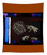 Wasps Tapestry by Hartmut Jager
