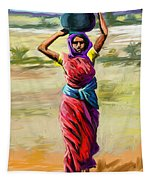 Water Carrier Tapestry