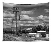 Water Tower In Hillsborough New Brunswick Tapestry