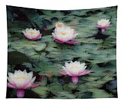 Waterlily Impressions Tapestry