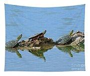 Western Painted Turtles Tapestry