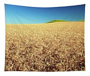 Wheat And Mounds Tapestry