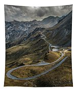 When You Get To The Top Tapestry by Jaroslaw Blaminsky