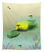 Whimsical Fish Tapestry