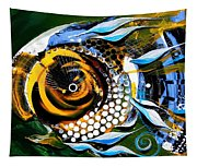 White Headed Mouth Fish Tapestry