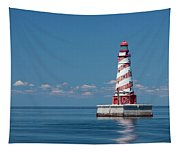White Shoal Lighthouse 20 Tapestry