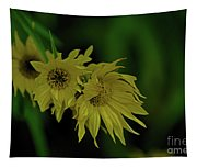 Wild Sunflowers In The Wind Tapestry