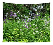 Wildflowers On Green's Hills Tapestry
