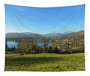Windermere With Loughrigg Fell And The Langdales From Ambleside Tapestry